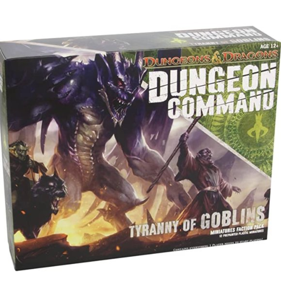 Dungeon Command: Tyranny of Goblins NEW SEALED